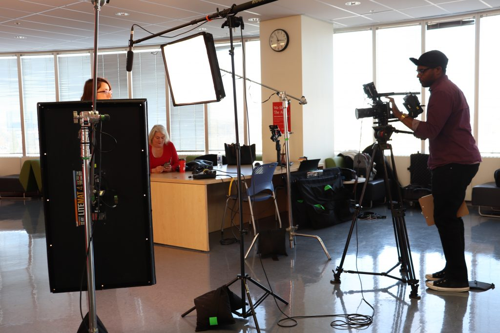 Video production for a startup company in Brampton